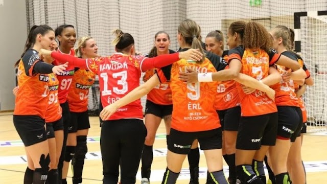 Női kézilabda EHF-kupa: magabiztos játékkal szerezte meg első győzelmét az Érd