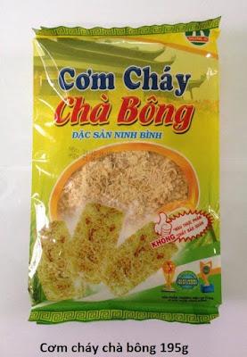 Cơm cháy chà bông Ninh Bình - Tinh hoa ẩm thực Việt Nam
