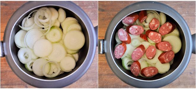 passo a passo carne cebola panela pressão