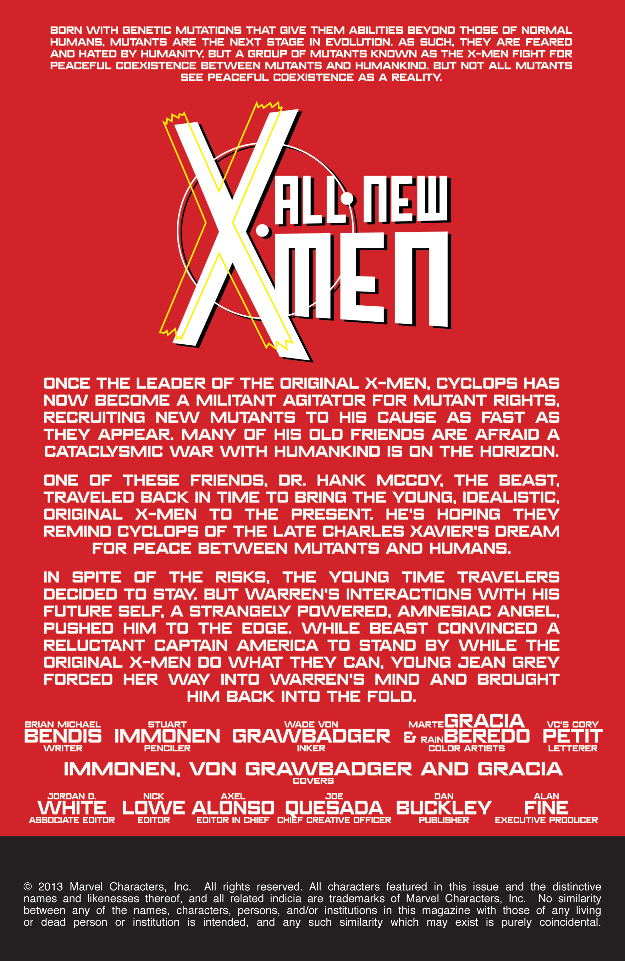Read online All-New X-Men (2013) comic -  Issue # _Special - Here To Stay - 66