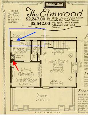 sears elmwood interior 1921 catalog