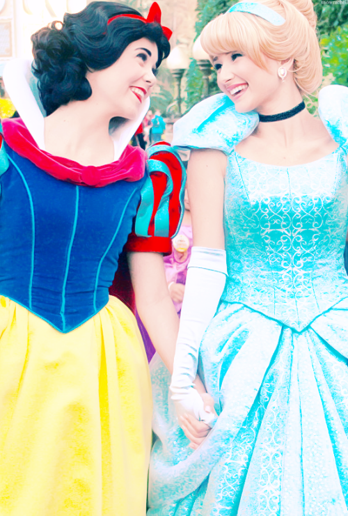 Princess in Disneyland USA