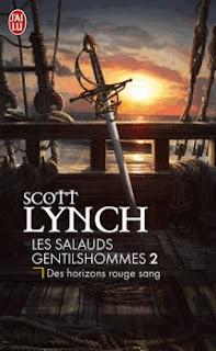 Couverture livre - critique littéraire - Salauds Gentilshommes - des horizons rouge sang