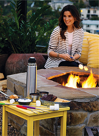 S'mores are fun for a staycation #AvonRep