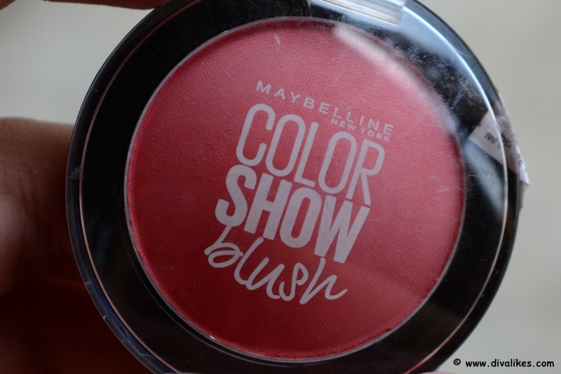 6581b3a9675 Maybelline Color Show Blush Fresh Coral Review