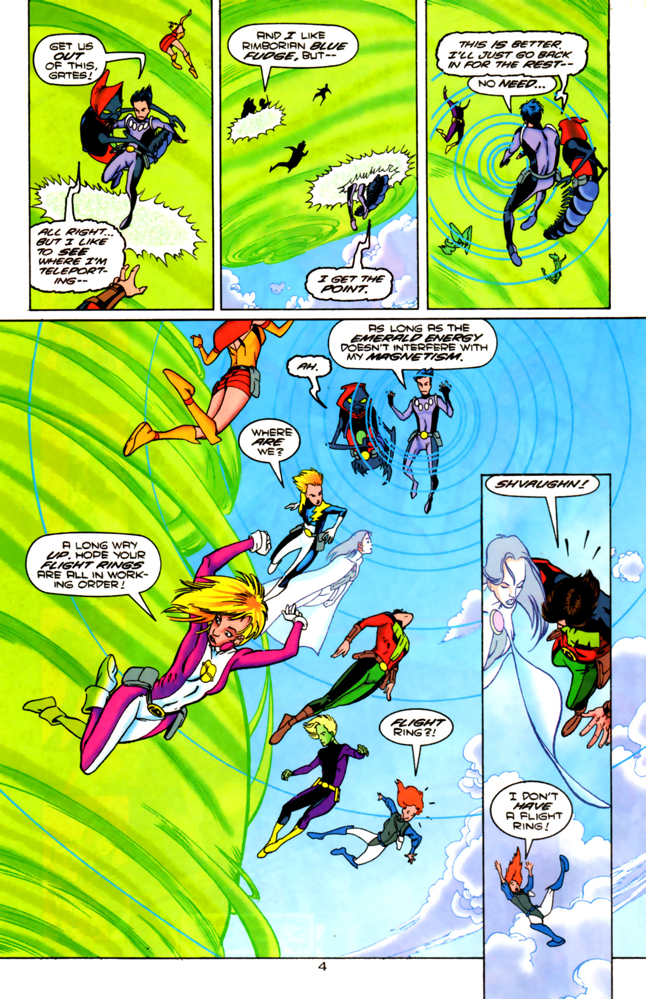 Legion of Super-Heroes (1989) 85 Page 3