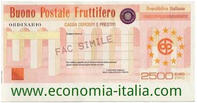 Imposta di bollo e tassazione sui Buoni Fruttiferi Postali