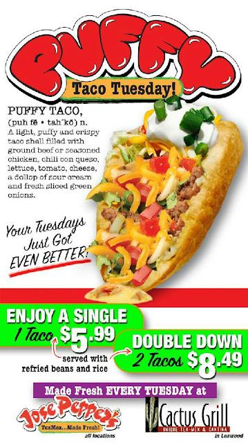 Puffy Taco Tuesday