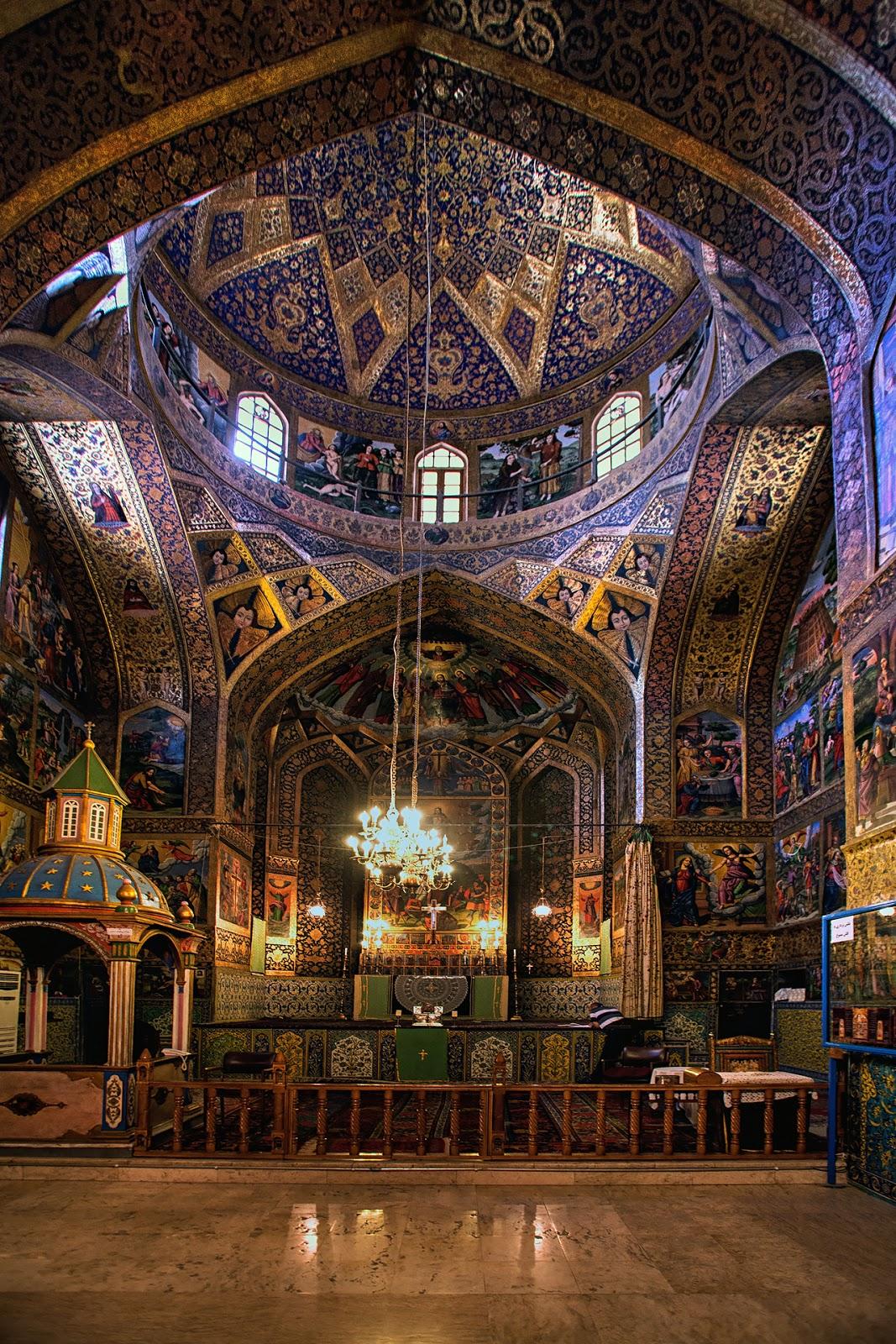 Iran-Isfahan-Dzielnica Ormiańska-Jolfa