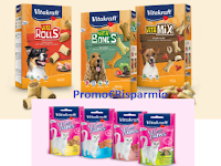 Logo Vitakraft ''Correndo'': vinci gratis 5 pacchi regalo per il tuo cane o il tuo gatto