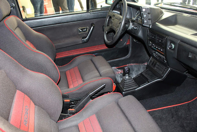 VW Gol GTS 1.8S - interior