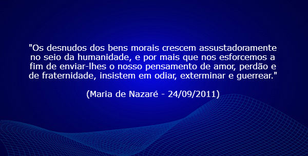 Maria de Nazaré - Somos a Legião do Cristo!