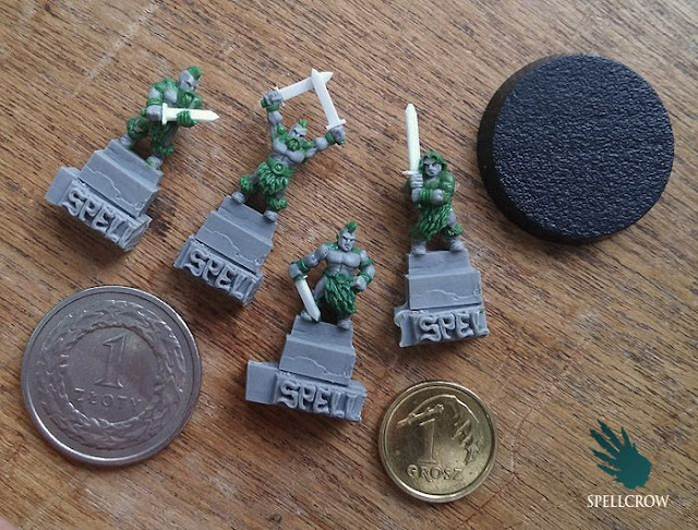 Wargame News and Terrain: Spellcrow: Upcoming 10mm Barbarian