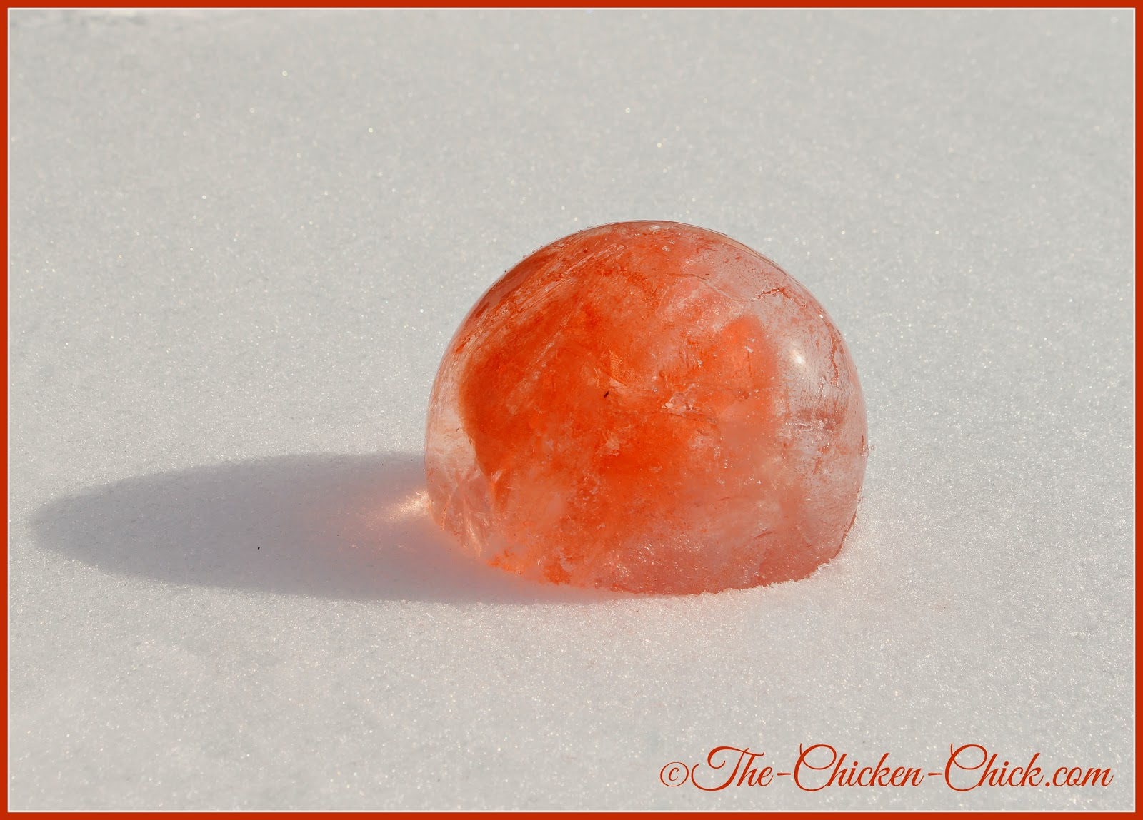 Ice globe