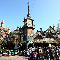 Peter Pan's Flight ride at Disneyland