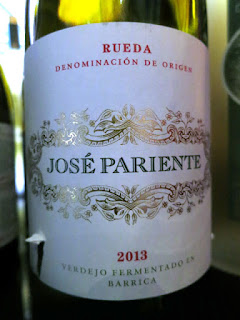 Bodegas José Pariente Fermentado en Barrica 2013 - DO Rueda, Spain (91 pts)