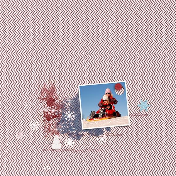 snow © sylvia • sro 2018 • bundle up by miss mis designs