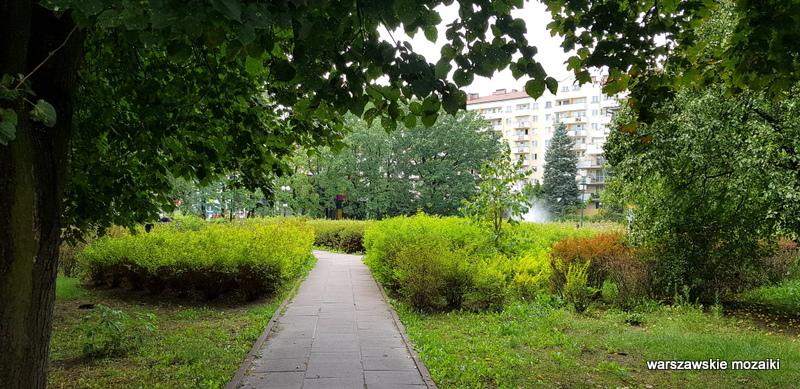Warszawa Warsaw Ursus parki warszawskie teren zielony