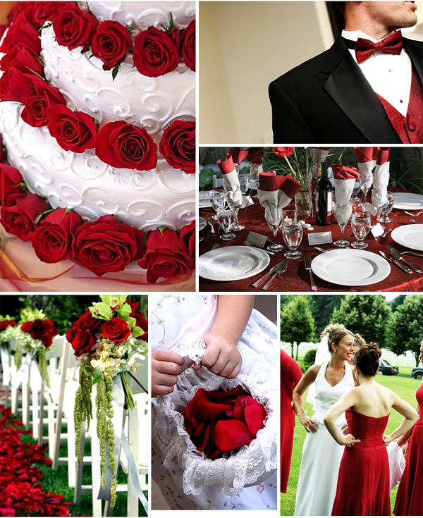 Romantic Red Wedding Ideas: Wedding Stuff Ideas