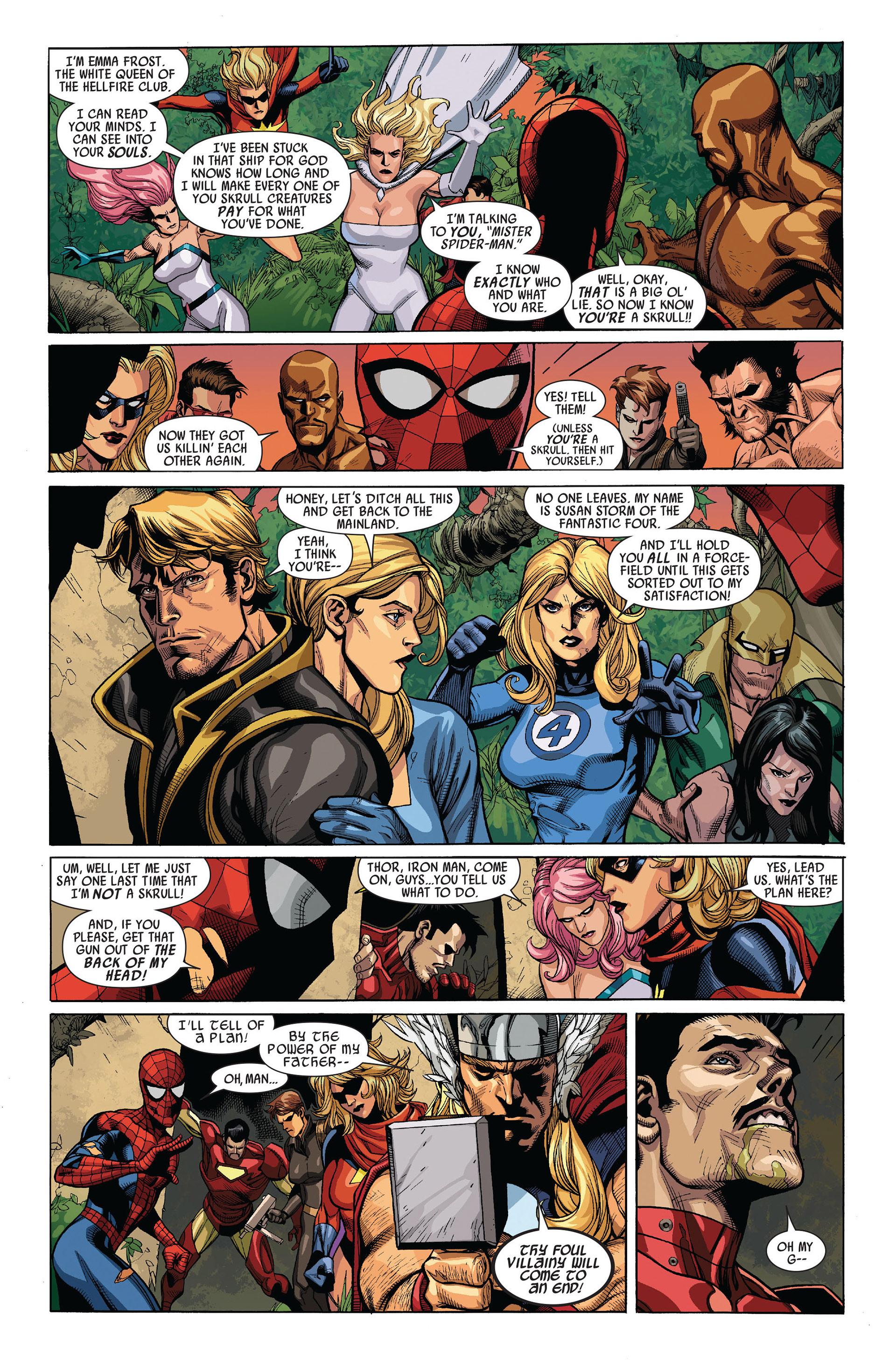 Read online Secret Invasion comic -  Issue #5 - 18