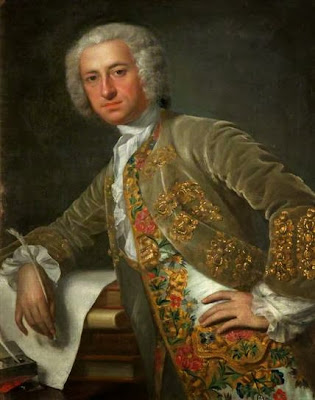 Portrait of an Unknown Gentleman by Jean-Baptiste van Loo, 1740