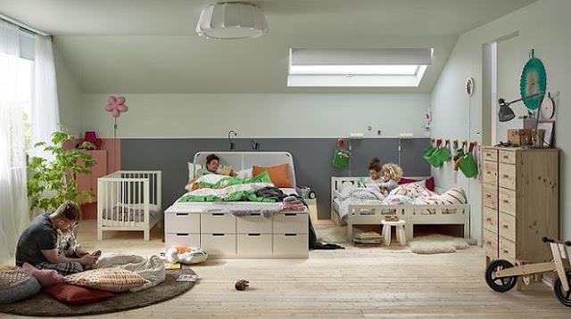 Pequefelicidad dormir en familia habitaciones inspiradoras for Habitaciones para familias