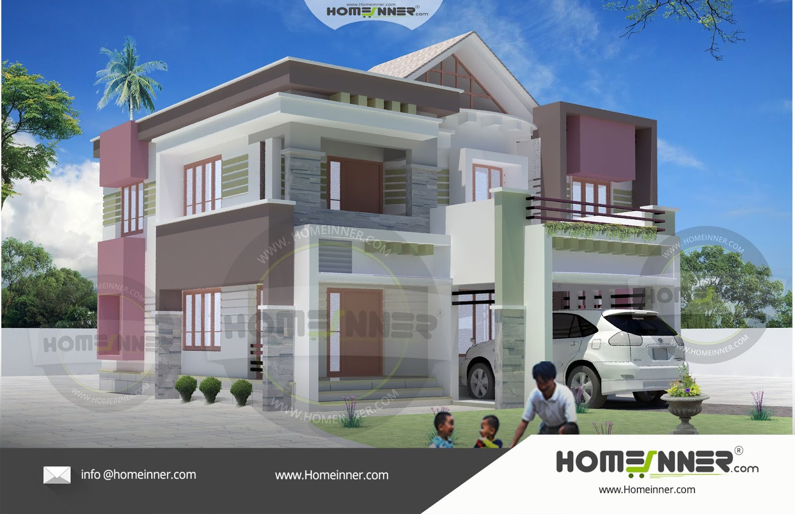 Kerala Home Design Kannur 4bhk Floor Plan