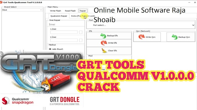 GRT Dongle  Qualcomm Crack Withiut Box 100% Working
