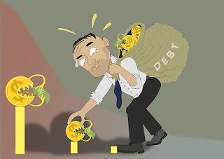 escaping debts