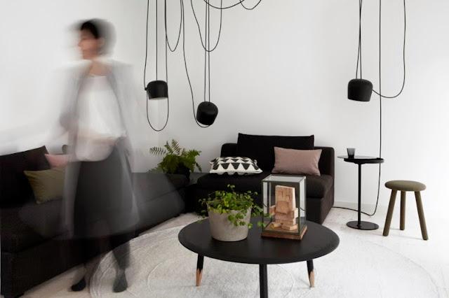 casa escandinava de diseño vanguardista