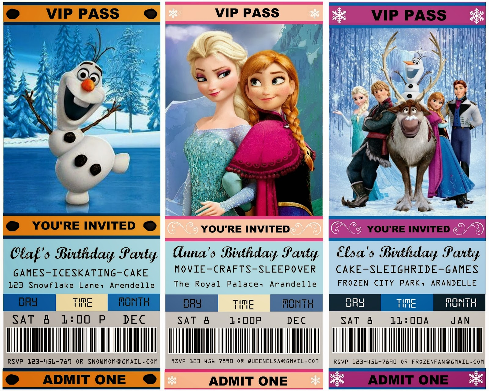 free movie ticket invitation free download