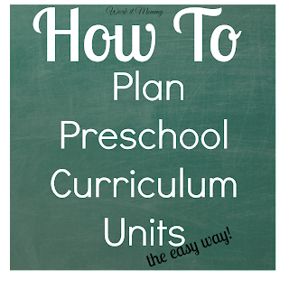how to plan preschool curriculum