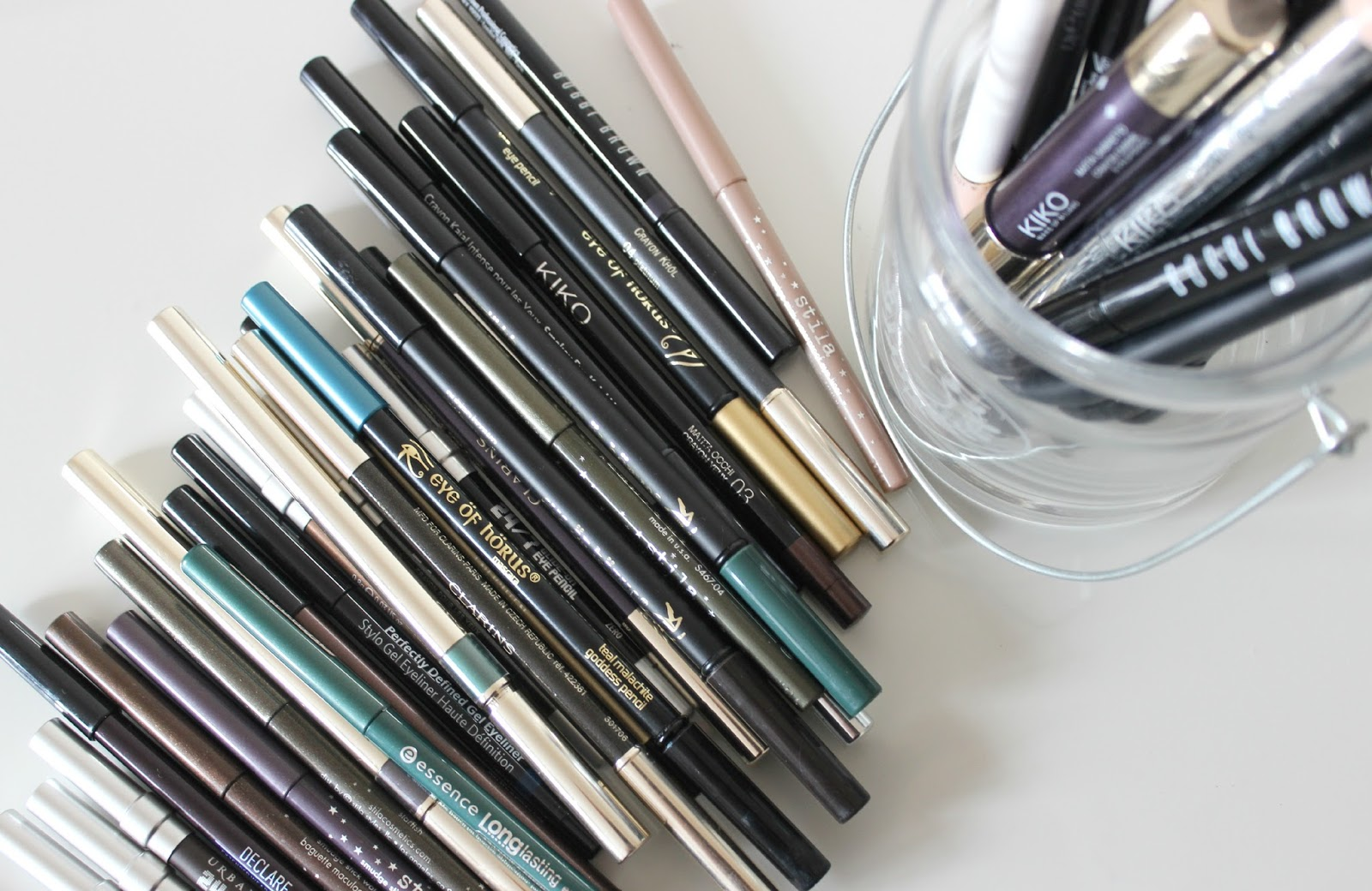 A picture of pencil eye liners
