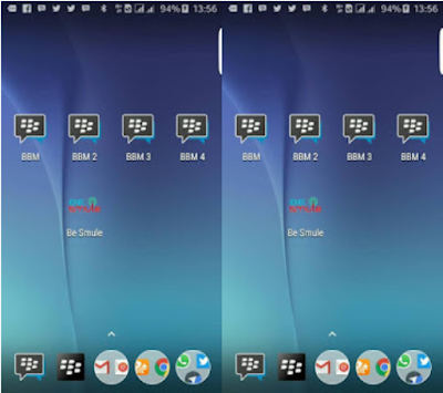 BBM Multi Clone (BBM1 + BBM2 + BBM3 + BBM4) Versi 3.2.2.8 Apk