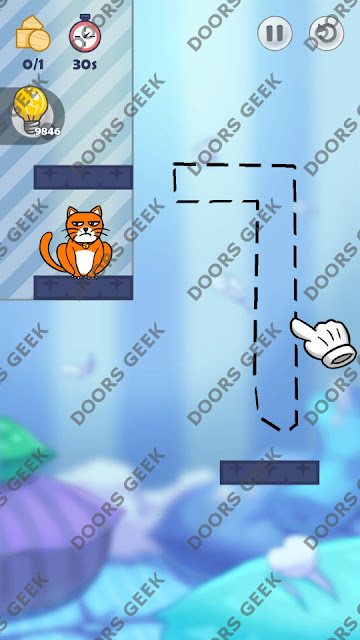 Hello Cats Level 88 Solution, Cheats, Walkthrough 3 Stars for Android and iOS