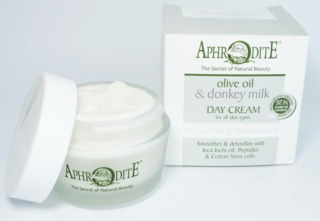 APHRODITE - Gesichtspflege mit Bio-Olivenöl & Eselsmilch