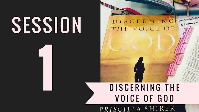 Session 1 - Discerning the Voice of God Bible Study