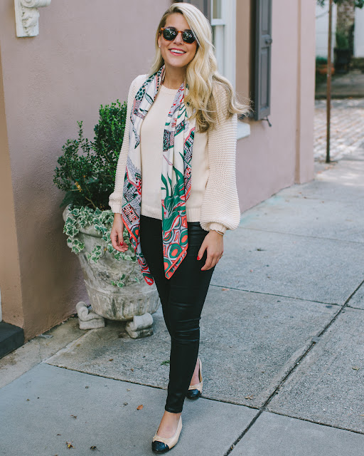 Fall Outfit In Charleston, South Carolina