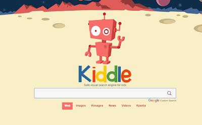 محرك البحث KIDDLE  للأطفال
