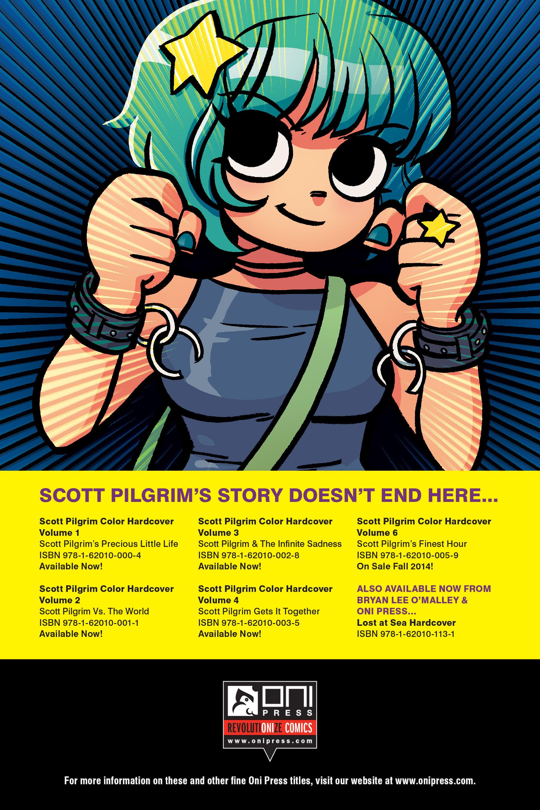 Read online Scott Pilgrim comic -  Issue #5 - 216