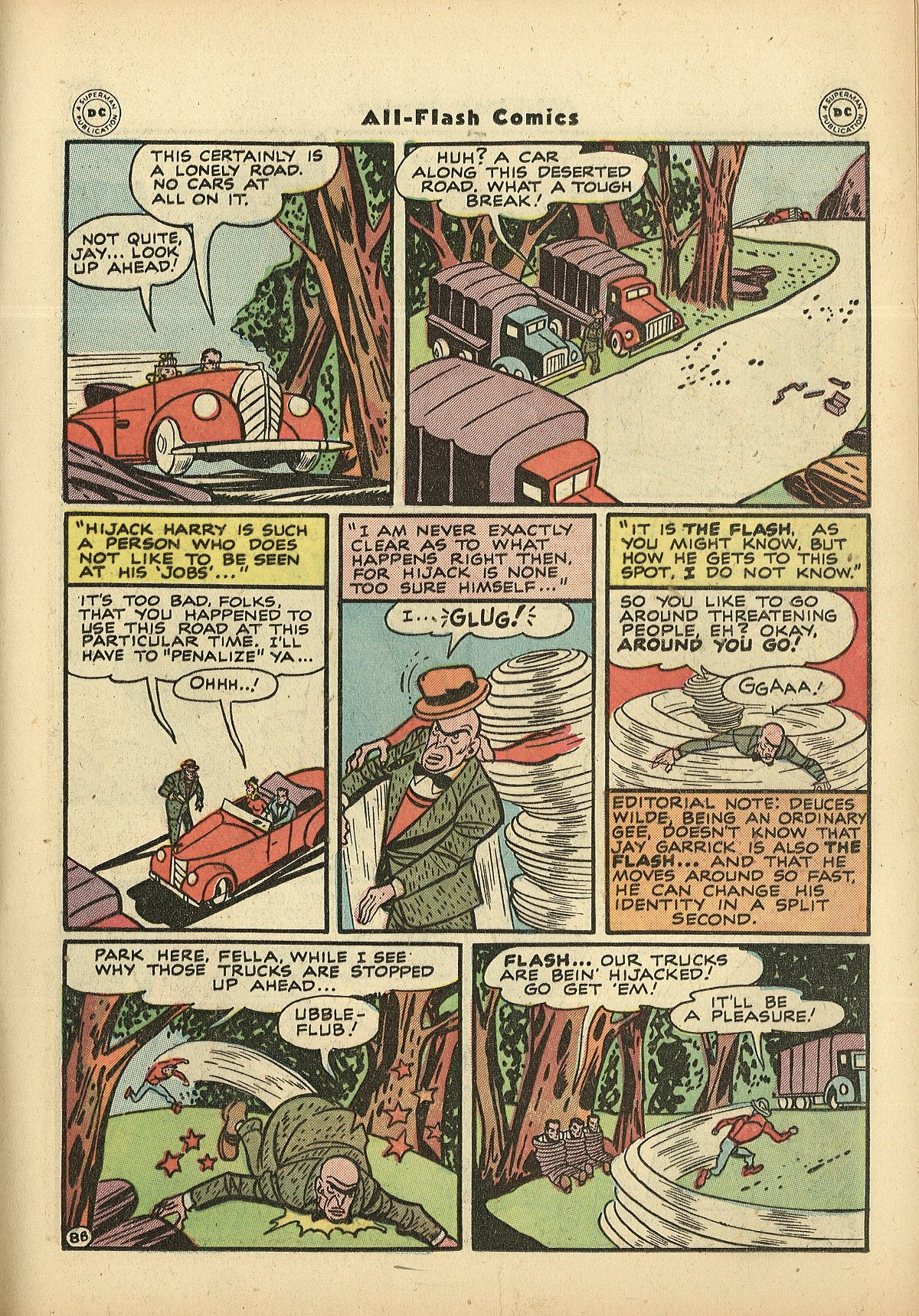 Read online All-Flash comic -  Issue #27 - 23