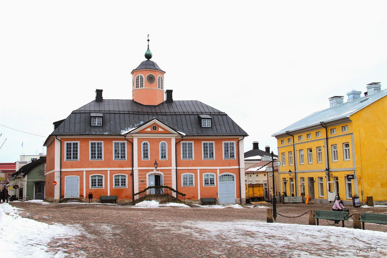 Old Town Hall of Porvoo, Finland