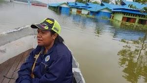 Danau Sentani Meluap, 25 Kampung Terendam Banjir