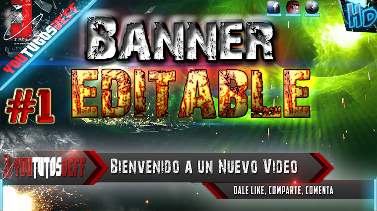 BANNER EDITABLE #1 CON AFTER EFFECTS CS6 | 2015