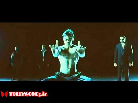 Prabhas six pack in billa movie