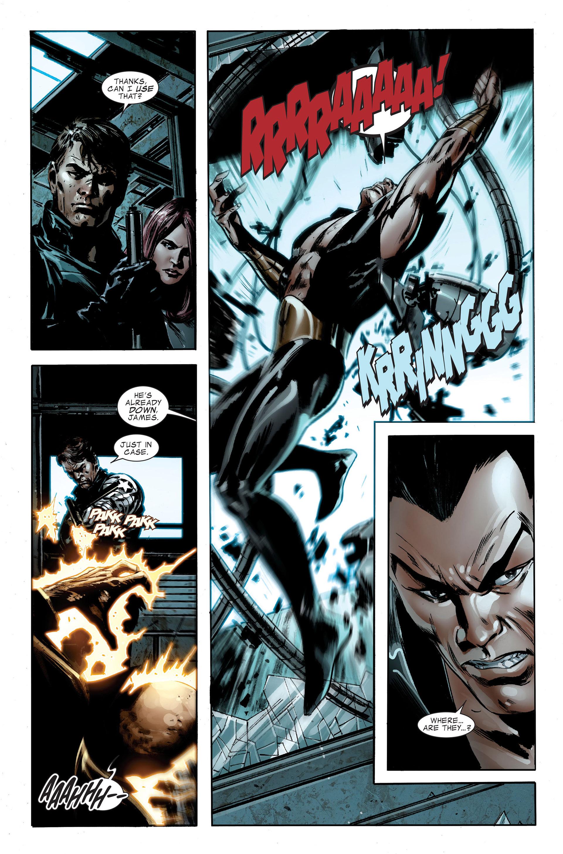 Read online Captain America (2005) comic -  Issue #48 - 10