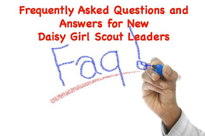 Freqently asked questions and answers for brand new Daisy leaders.