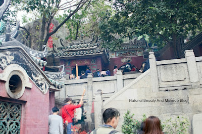 UNESCO Heritage Site AMA Temple located at Barra square, Macau