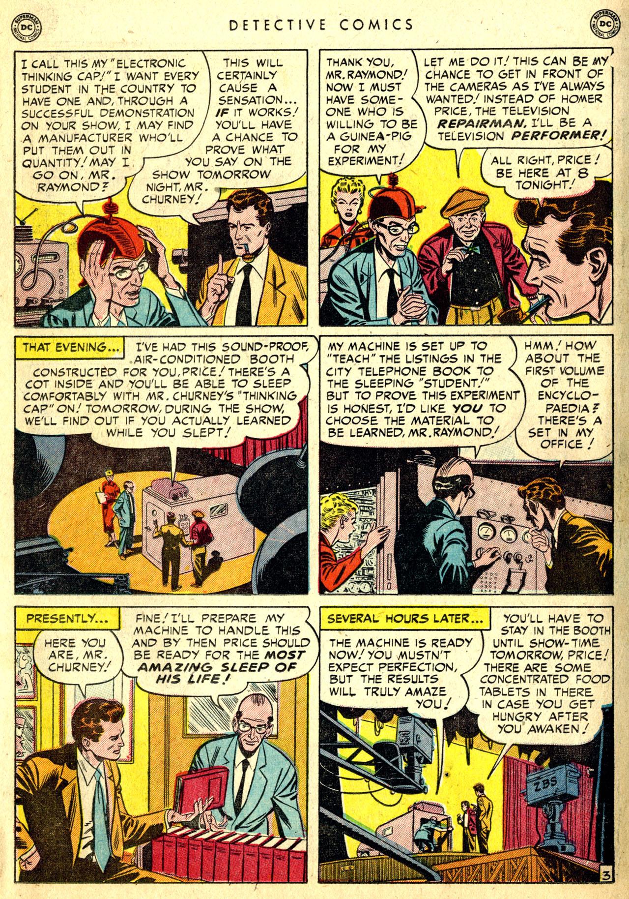 Read online Detective Comics (1937) comic -  Issue #168 - 21