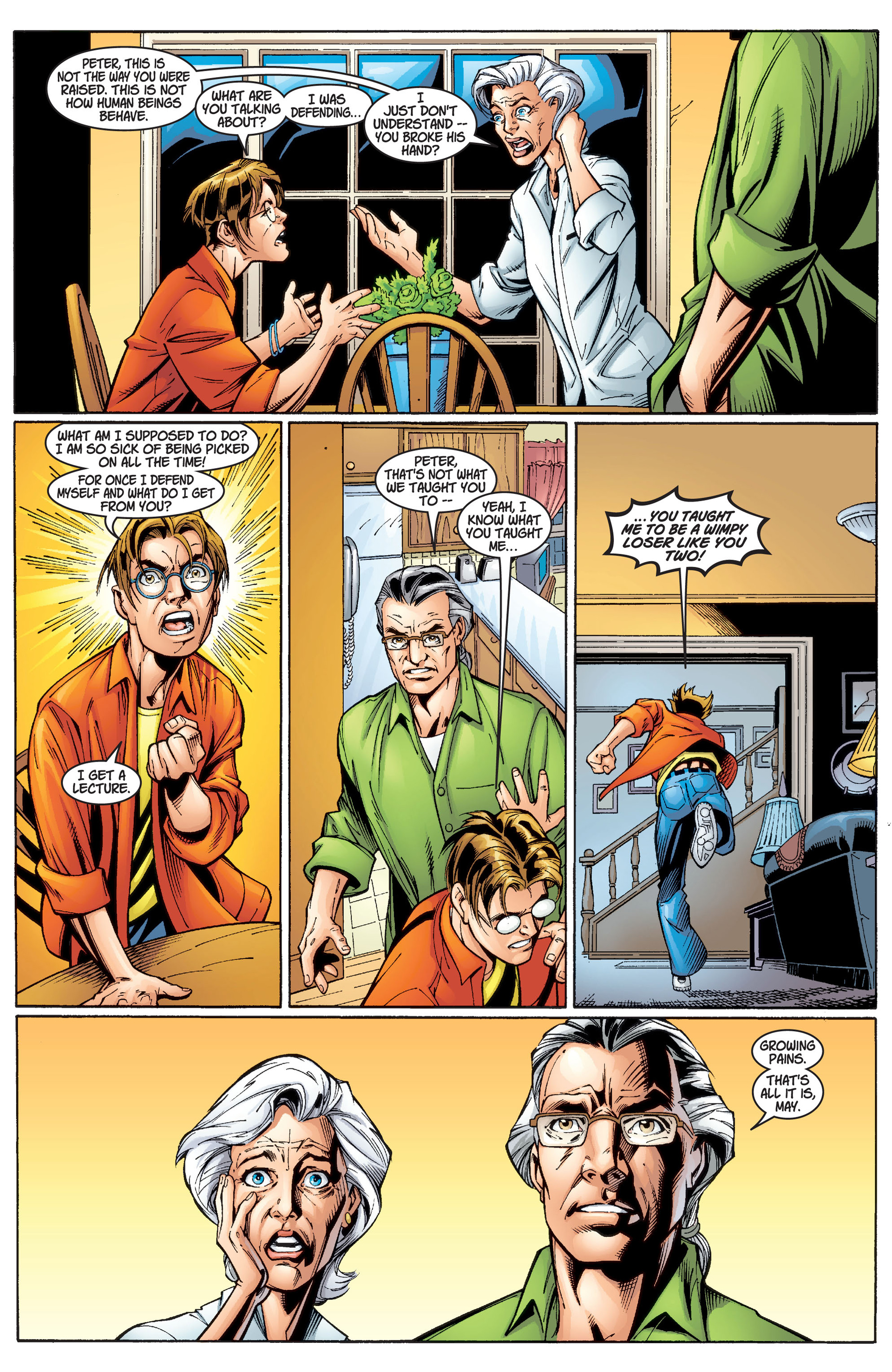 Read online Ultimate Spider-Man (2000) comic -  Issue #2 - 13